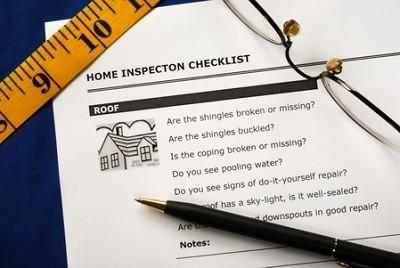 Home Inspector Cleveland - Picture of a home Inspection Report checklist