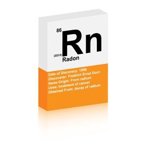 radon inspection service - Picture of radon symbol (radon)