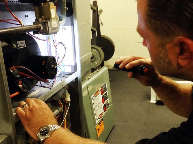 heating air conditioning inspection